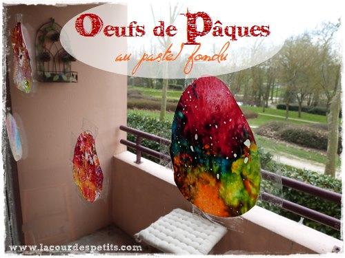 Décorations de Pâques pour nos fenêtres La cour des petits