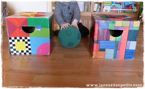jeu vocabulaire position maternelle