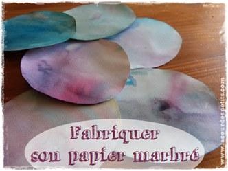 papier marbre technique
