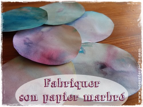 papier marbre technique