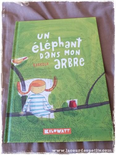 elephant dans mon arbre
