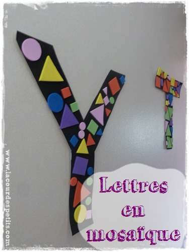 lettres decoratives enfant