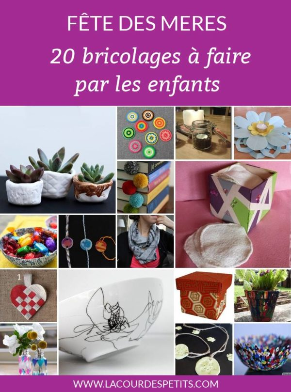 20 bricolages de fêtes des mères
