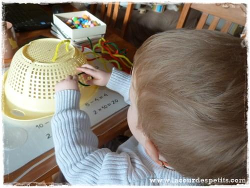 bricolage fil chenille