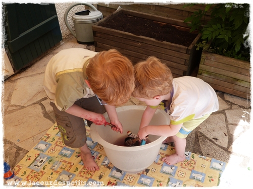 nettoyage peinture enfant
