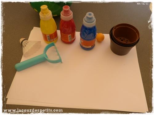 peinture jardin materiel