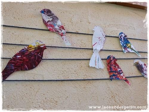 Pochoir-oiseaux