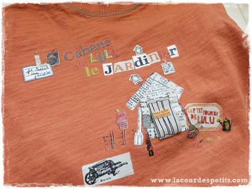 T shirt enfant occasion