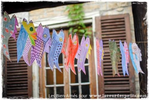 bricolage poisson enfant