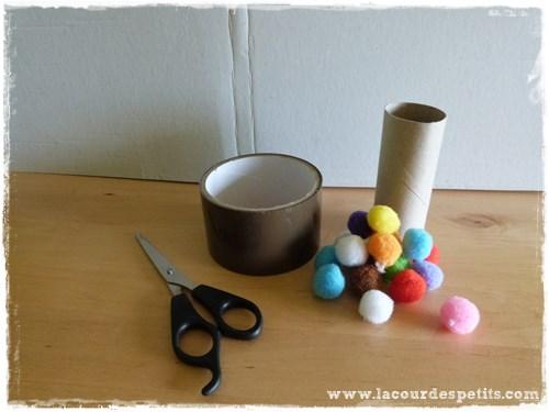 Un jeu en rouleaux de papier toilette la cour des petits - Rouleaux de papier toilette ...