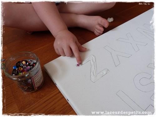 bricolage alphabet maternelle