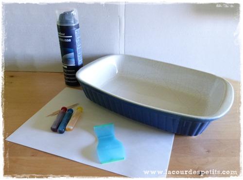 peinture marbre materiel