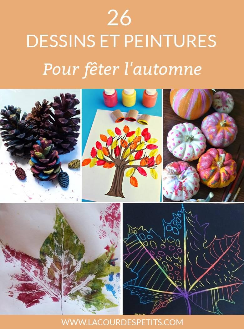 26 Peintures Et Dessins D Automne La Cour Des Petits
