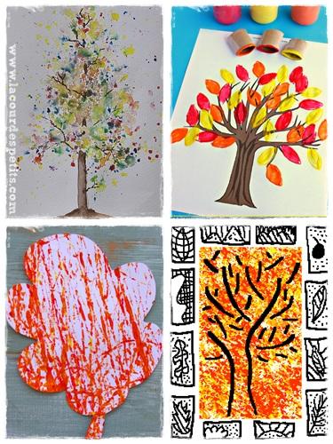26 Peintures Et Dessins D 39 Automne La Cour Des Petits