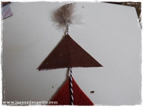 guirlande triangles deco