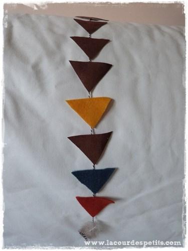 guirlande triangles