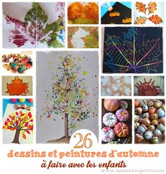 dessin peinture automne enfant