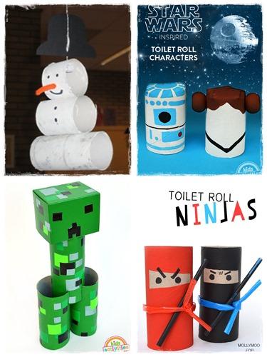 Manuelle avec rouleau papier toilette activite rouleau - Activite manuel avec rouleau papier toilette ...