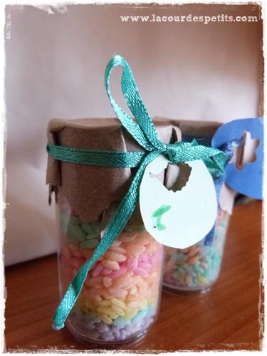 decorations riz couleur