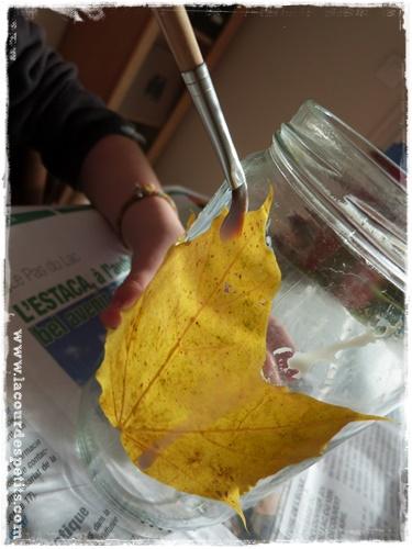 lanterne automne vernis