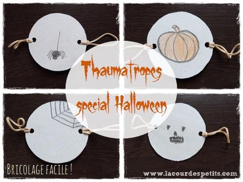 thaumatrope halloween