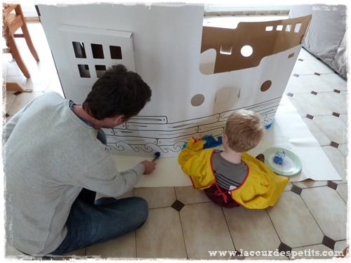des jouets en carton à décorer + concours avec wiplii |la cour des