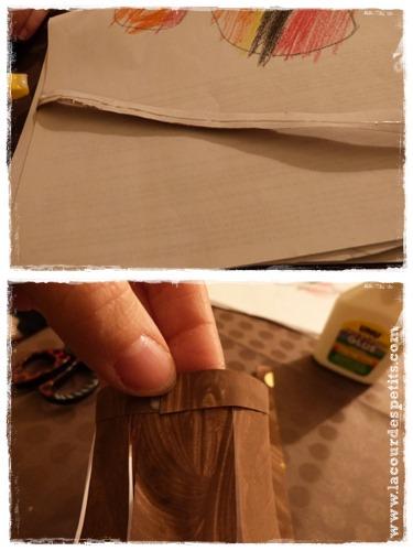 DIY lanterne papier