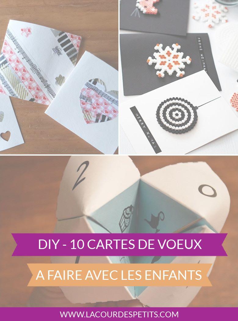 10 cartes devoeux à faire avec les enfants