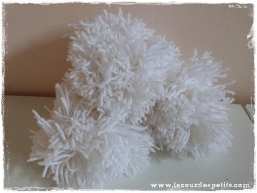 fabriquer pompons laine