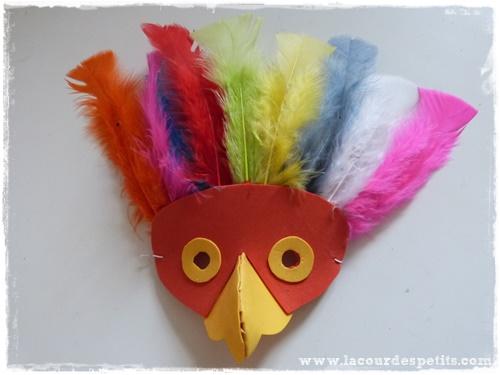 Fabriquer un masque de carnaval en papier mousse - Masque qui fait peur a imprimer ...