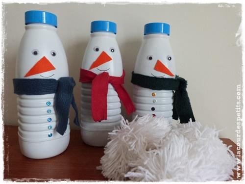 bricolage hiver maternelle