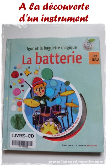 decouverte batterie