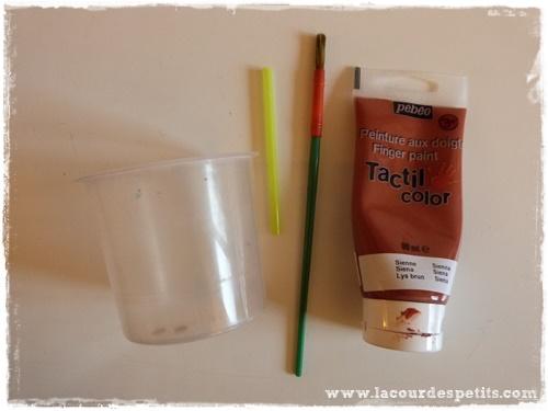peinture paille materiel
