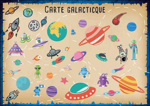 carte galactique