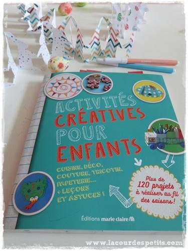 activites creatives enfants marie claire