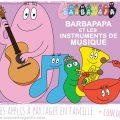 barbapapa instruments musique
