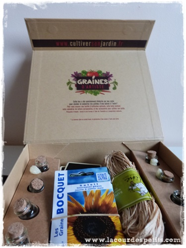 box jardinage enfant