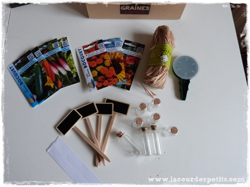 materiel box jardinage