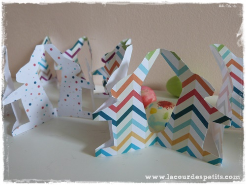 bricolage paques lapin