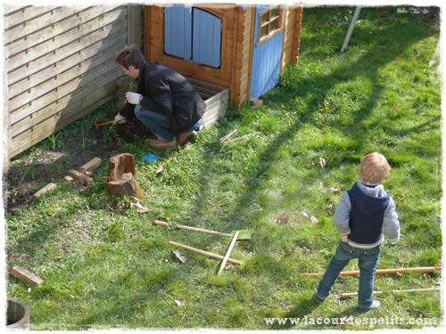preparation jardin enfant