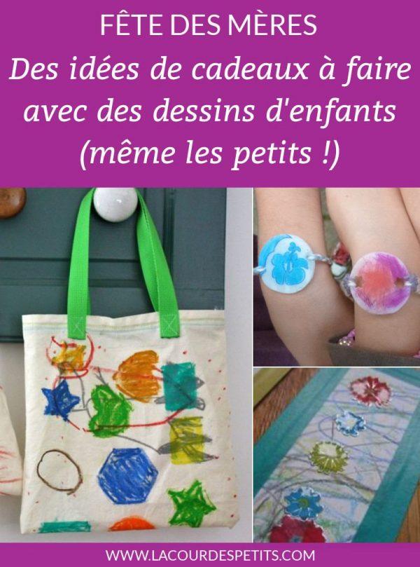 idées cadeaux dessins fête des mères