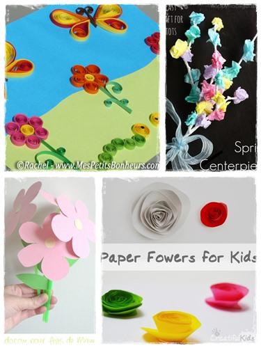 60 Bricolages De Printemps En Fleurs Et En Couleurs La