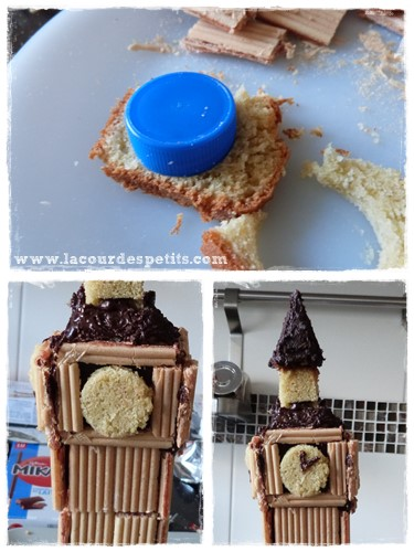 gateau big ben horloge