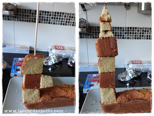 gateau big ben montage