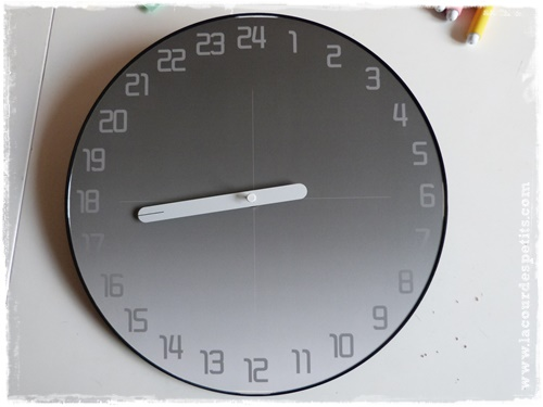 horloge 24 demonter