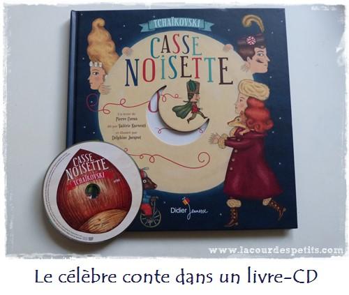 casse noisette livre CD