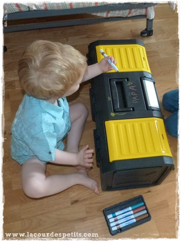 DIY caisse a outils