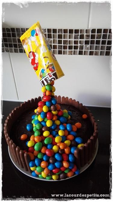 gravity cake dessus