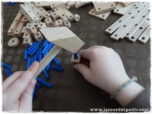 construction voiture enfant