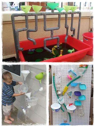 15 id es de jeux d 39 eau pour les enfants la cour des petits. Black Bedroom Furniture Sets. Home Design Ideas